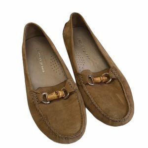 Patricia Green Bamboo Horsebit Loafers